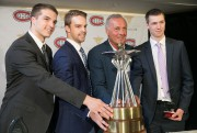 Philippe Boisvert, Charles-David Beaudoin, Guy Lafleur et Alexis... (PHOTO FRANÇOIS ROY, LA PRESSE) - image 4.0