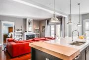 Cuisine et salon, après les travaux... (Photo fournie par immophoto.ca) - image 1.0