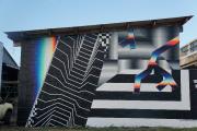 Établi à Valencia, en Espagne, l'artiste Felipe Pantone... (Photo Halopigg, fournie par le festival Mural) - image 1.1