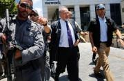 Le ministre de la Défense Avigdor Lieberman visite... (PHOTO GIL COHEN-MAGEN, AFP) - image 3.0