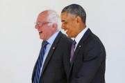 Barack Obama et Bernie Sanders à la Maison-Blanche,... (PHOTO Gary CameroN, REUTERS) - image 7.0