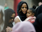 La femme de Muhammad Ali, Lonnie, et sa... (AP, David Goldman) - image 2.0