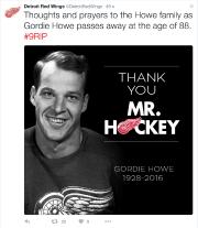 Les Red Wings ont confirmé la nouvelle peu... (Saisie d'écran, Twitter) - image 1.0