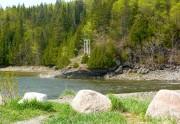 Sur l'autre rive de la rivière Mitis se... (Photo collaboration spéciale Michèle LaFerrière) - image 3.0