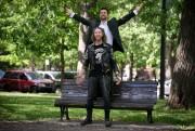 Les comédiens Pascal Rousseau et Jordane Houde, du... (PHOTO FRANÇOIS ROY, LA PRESSE) - image 1.0