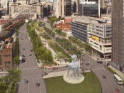 La sculpture de plus de 10m de hauteur... (PHOTO FOURNIE PAR JAUME PLENSA ET LA GALERIE LELONG) - image 1.0