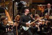 Le concert a été ponctué d'envolées rock.... (PHOTO EDOUARD PLANTE-FRÉCHETTE, LA PRESSE) - image 1.1