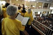 Le Choeur Euphonie, dont font partie deux des... (Photo Le Progrès-dimanche, Mariane L. St-Gelais) - image 1.0