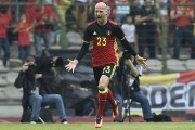 Laurent Ciman a joué leshéros le 5 juin... (AFP, John Thys) - image 4.0