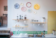 La cuisine se veut ouverte, conviviale, pour que... (Photo Marco Campanozzi, La Presse) - image 1.1