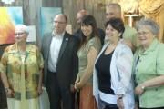 Sur la photo: Huguette Gagnon, présidente, Jocelyn Régis,... - image 2.0