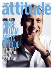 Le Prince Williamen une du magazine gai,Attitude... - image 2.0