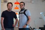 Les designers industriels Bastien Jourde (à gauche) et... (Photo Olivier Jean, La Presse) - image 1.0