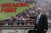 Le chef de l'UKIP, Nigel Farage... (AFP, Daniel Leal-Olivas) - image 3.0