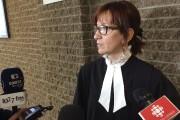 La procureure aux poursuites criminelles, Me Nathalie Robidoux... (La Tribune, René-Charles Quirion) - image 1.0