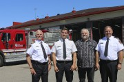 Serge Buisson, directeur incendie de la Ville de... (Audrey Tremblay) - image 5.0