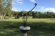 L'une des sculptures exposées sur le site abercornien.... (fournie) - image 1.0