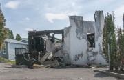 La maison a été ravagée par un incendie... (Photo Le Quotidien, Michel Tremblay) - image 3.0