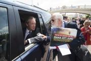 À quelques jours du vote, le chef du... (AFP, Justin Tallis) - image 3.0