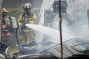Les pompiers revenaient de l'incendie mortel de la... (Spectre Média, Marie-Lou Béland) - image 3.0