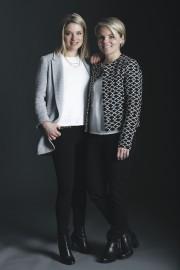 Les soeurs Virginie et Marie-Pierre Bernier sont les... (Photo fournie par Summum Granit) - image 3.0