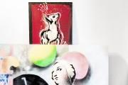 Des oeuvres d'art sont exposées un peu partout... (Photo Jany Tremblay) - image 2.0