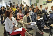 Plusieurs dizaines de personnes ont assisté à la... (Photo Le Quotidien, Rocket Lavoie) - image 2.0