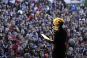 La députée péquiste Mireille Jean a pris la... (Photo Le Quotidien, Rocket Lavoie) - image 2.0