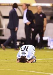 La vedette argentine, Lionel Messi, n'a pas réussi... (Alfredo Estrella, AFP) - image 2.0