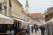 La rue piétonnière Petra Preradovica est en quelque... (Photo Nathaëlle Morissette, La Presse) - image 4.0