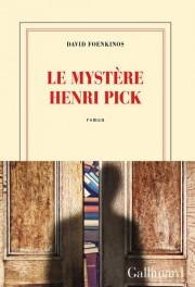Le mystère Henri Pick, de David Foenkinos... (Image fournie par la maison d'édition) - image 2.0