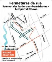 Des fermetures sont prévues dans le secteur de... (Courtoisie, Ville d'Ottawa) - image 1.0