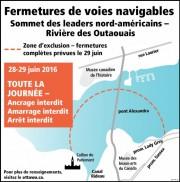 Un secteur de la rivière des Outaouais est... (Courtoisie, Ville d'Ottawa) - image 3.1