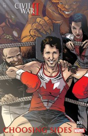 Justin Trudeau se transforme en personnage de bande... (La Presse Canadienne/HO, Ramon Perez) - image 2.0
