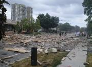 Des photographies des lieux montraient que les maisons... (La Presse Canadienne, Zeljko Zidaric) - image 2.0