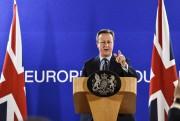 À Bruxelles, mardi, le premier ministre du Royaume-Uni... (AFP, Philippe Huguen) - image 2.0