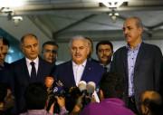 Lors d'une conférence de presse hier au sujet... (Photo Murad Sezer, Reuters) - image 1.0