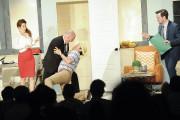 La mise en scène de la pièce Hier... (Le Quotidien, Gimmy Desbiens) - image 2.0
