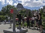 L'organisme d'art public EXMURO et la Ville de... (Le Soleil, Frédéric Matte) - image 17.0