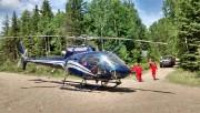L'équipe d'Airmedic est intervenue à la zec du... (Photo courtoisie) - image 5.0