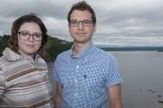 Le couple formé de Catherine Villeneuve et Jonathan... (Photo Le Progrès-dimanche, Michel Tremblay) - image 1.0