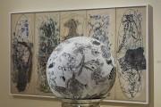 La sphère sur socle dessinée par Paryse Martin... (Photo Musée d'art contemporain de Baie-Saint-Paul) - image 4.0
