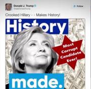 Le candidat républicain à la Maison-Blanche Donald Trump... (Photo tirée de Twitter) - image 1.0