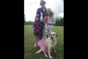Jessica Brown et ses enfants participaient à la... (Catherine Trudeau, La Voix de l'Est) - image 1.0