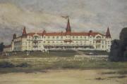 L'Hôtel Roberval (Château Beemer), qui fut la proie... (Photo Le Quotidien, Isabelle Tremblay) - image 1.0