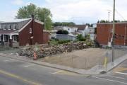 Le terrain sur lequel était construit le restaurant... (Andréanne Lemire) - image 2.0