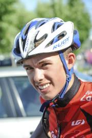 Robin Plamondon a remporté la toute dernière course... (Photo Le Quotidien, Gimmy Desbiens) - image 3.0