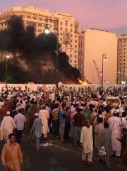 La télévision a montré des images de flammes... (PHOTO REUTERS) - image 1.0
