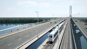 Le Réseau électrique métropolitain (REM) est un projet... (Image fournie parCDPQ Infra) - image 1.0