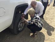 Les ministres Julie Boulet et Pierre Arcand ont... (Audrey Tremblay) - image 1.0